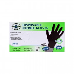 NITRILE GLOVES DISPOSABLE