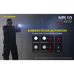 NITECORE NPL10